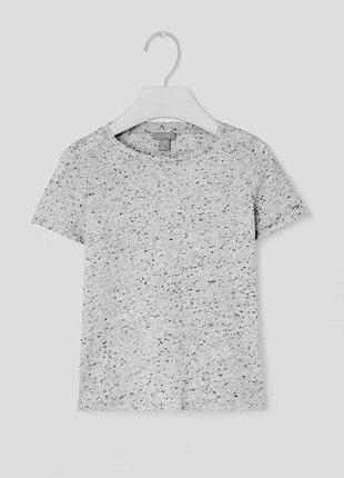 Оригинальная детская футболка от бренда cos разм. 86/92