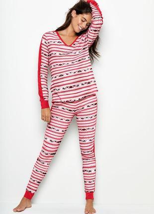 Нарядная термо пижама виктория сикрет