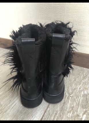 Ботинки угги зимние