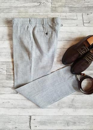 Мужские льняные брюки suitsupply