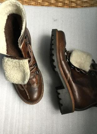 Ботинки зимние кожаные madison