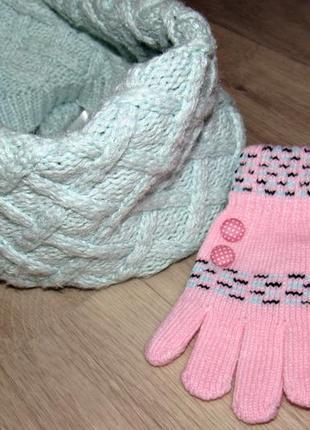 Хамут и рукавички