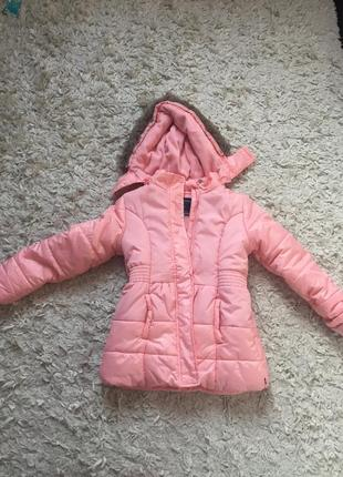 Новая нежно розовая куртка на девочку nautica