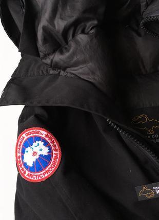 Пуховик куртка зимняя очень тёплая canada goose