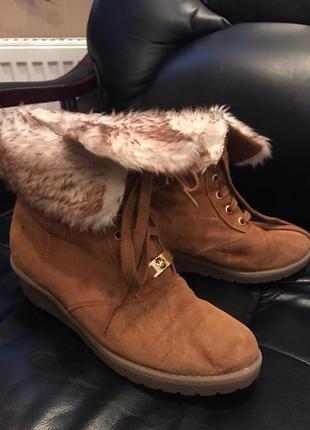 Зимние ботинки michael kors