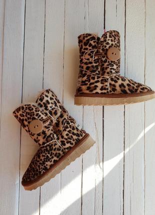 Дитячі зимові чобітки угги 22-23 розмір