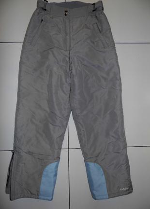Фирменные лыжные штаны на синтепоне - alaska - м - 46 разм.