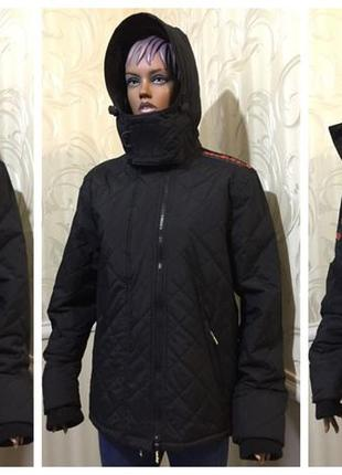 Утепленная, стеганая куртка, superdry, размер xl
