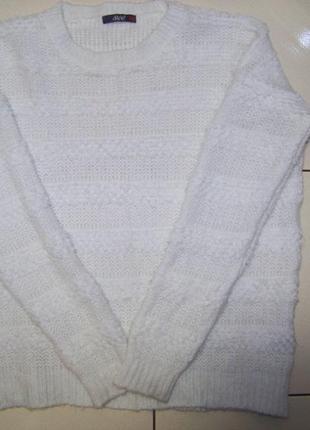 Теплый мягкий оверсайз свитер dilvin