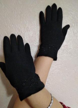 Итальянские кашемировые перчатки