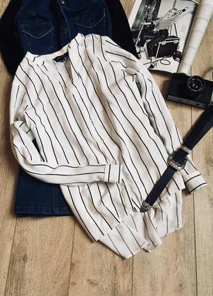 Блуза в актуальну полоску від new look💔