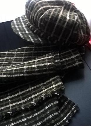 Беретик с шарфиком
