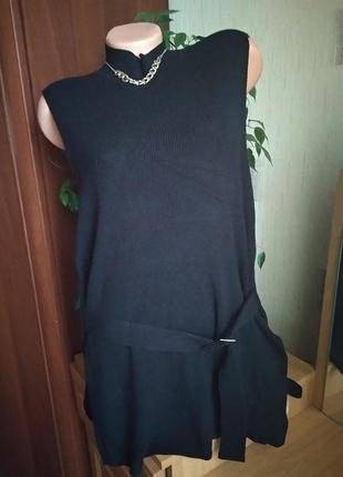 Туника платье без рукавов теплая esprit