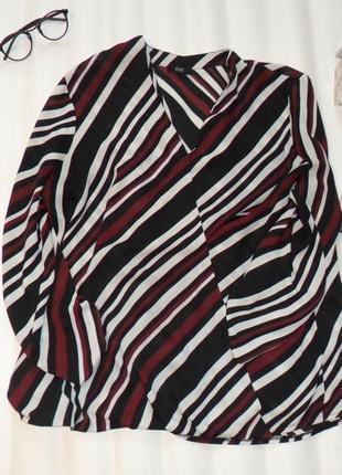Блуза f&f на запах