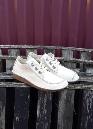 Кожаные мокасины туфли ботинки clarks 36 р. оригинал