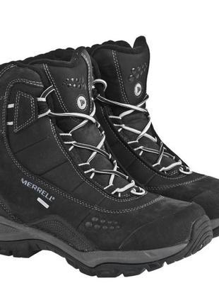 Термо ботинки кожаные merrell