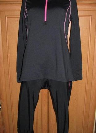 Спортивный костюм l вело трико кофта микро флис женский комплект