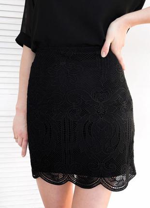 Прекрасная ажурная юбка