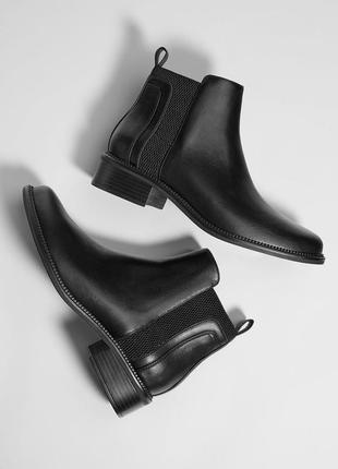 Новые ботинки челси bershka (35,36,37,38,39,40)