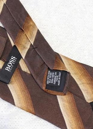100 проц. шелк галстук hugo boss оригинал