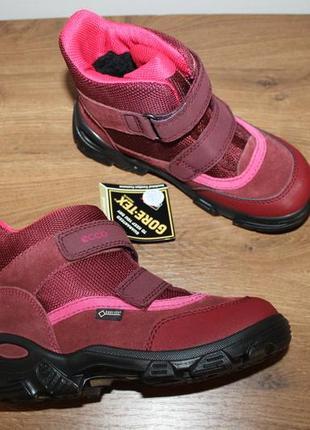 Водонепроницаемые зимние ботинки ecco snowboarder gore-tex