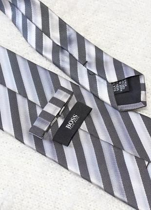 100% шелковый галстук hugo boss оригинал