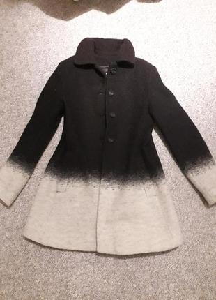 Тепле пальто zara