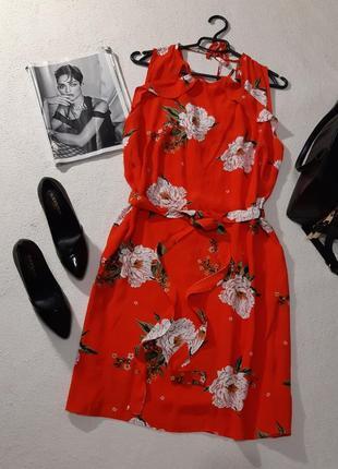 Красивое вискозное платье. размер 3xl