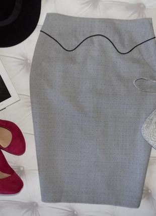 Офисная  юбка-карандаш