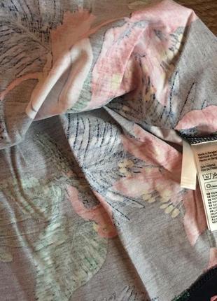 Сарафан, платье h&m france из мягкого хлопка на маленькую модницу; 92см3 фото