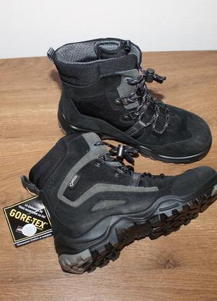 Водонепроницаемые зимние ботинки ecco xpedition gore-tex