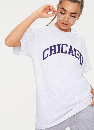 Удлиненная оверсайз футболка prettylittlething