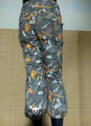 Лыжные брюки /140 см 9/10 лет