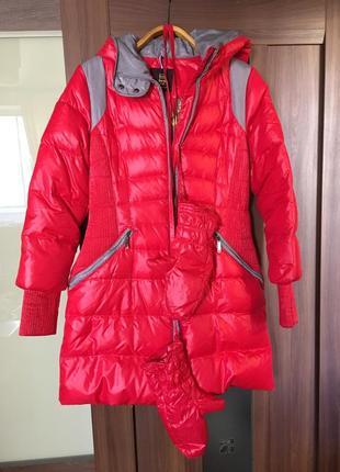 Зимнее пальто пуховик snow owl s m детский xl для женщины/девочки