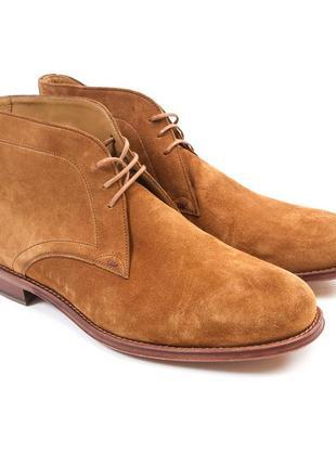 Замшевые мужские ботинки paul smith