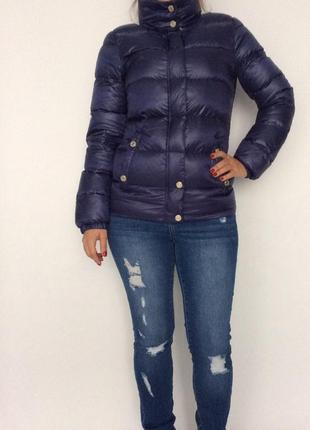 Пуховик женский armani jeans