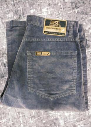 #diesel  # вельветовые # серые# джинсы# брюки  высокая талия #винтаж
