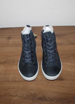 Подростковые зимние ботинки ecco s7 teen  с мембраной gore-tex