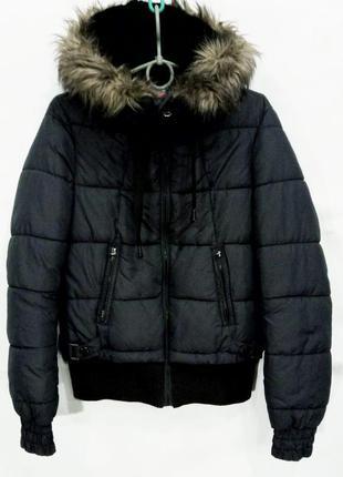 Куртка женская bershka га синтепоне размер s