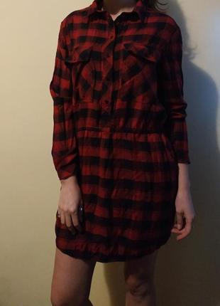 Платье-рубашка mango