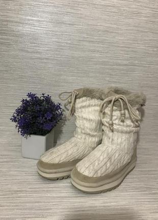 Женские ботинки skechers