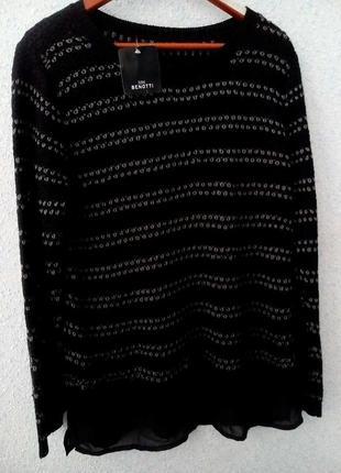 Benotti очень красивый пуловер размер евро 36/38 и 44/46