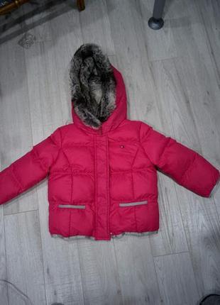 Великолепная курточка для девочки 3 года tommy hilfiger оригинал америка