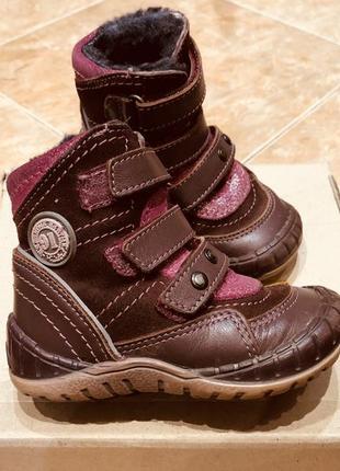Зимние ботинки, ботиночки бартек, bartek 21 размер
