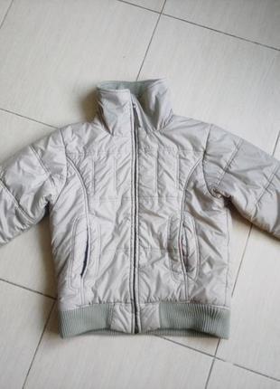 Куртка colins деми евро зима м бежевая курточка