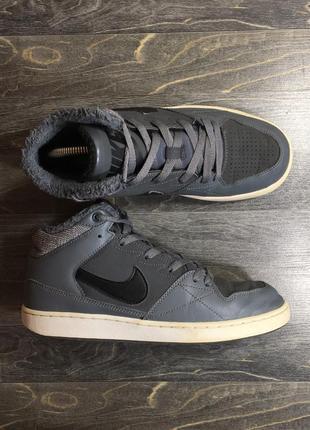 Nike с мехом на зиму