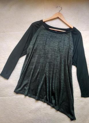 Красивая блуза туника на искос
