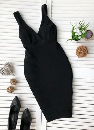 Утягивающие бандажное платье