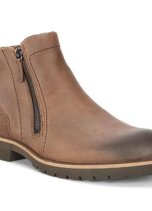 Зимние ботинки ecco jamestown, кожа р.46 оригинал