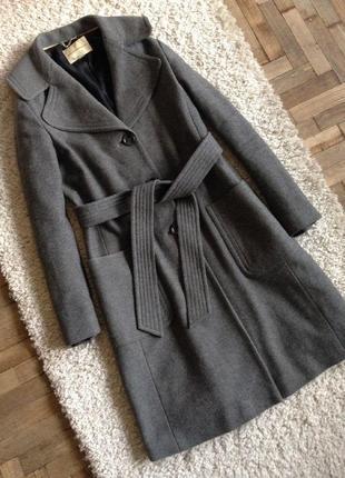 Шерстяное пальто banana republic